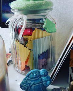 Das Glas der guten Dinge...Dein Reminder für Selbstwirksamkeit im Alltag, Glück und Lebensfreude und das Gelingen